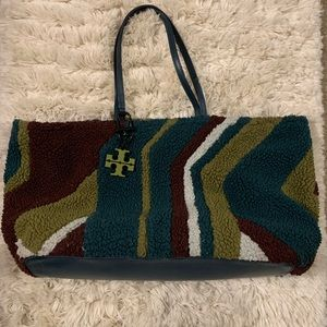 Tory Burch Shearling Britten Bag